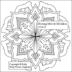 Morning Melody Medallion inkl. Cutting Guide