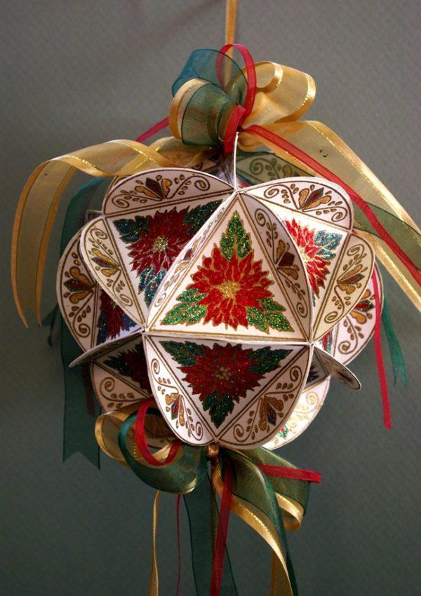 Holly Circle Ornament inkl. Anleitung NEU