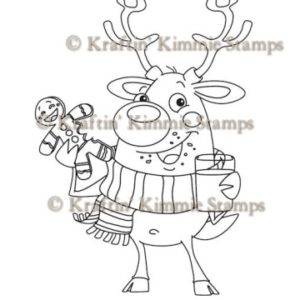 Rudy the Reindeer, inkl. Text