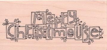 Merry Christmouse blocks