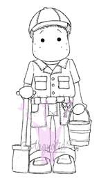 Edwin as Animal Keeper