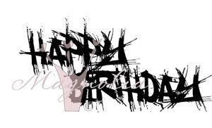 Graffitti - Happy Birthday