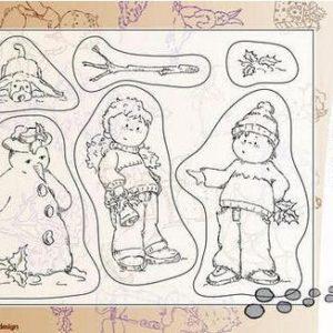 Winter Snowman NEU