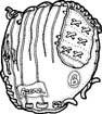 Baseball Mitten - Med.
