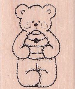 Bear with Beehive