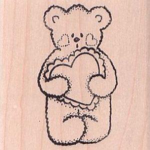 Bear with Lady Heart