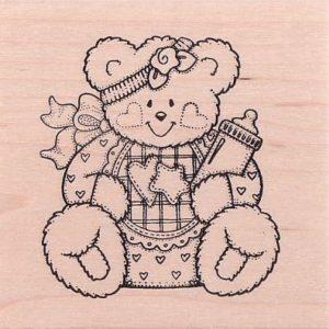 Girl Bear w/ Bootie