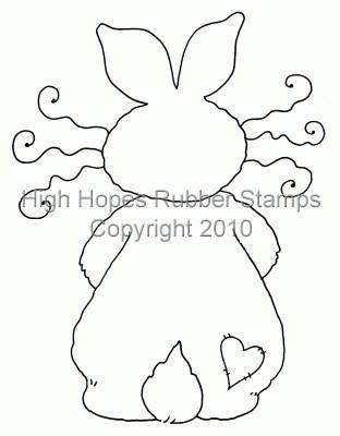 Cute Bunny Bum