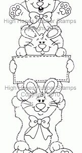 Easter Bunny Stack