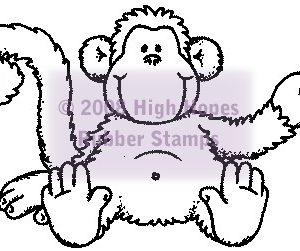 Large Monkey Mike