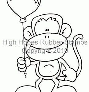 Myron Monkey's Heart Balloon