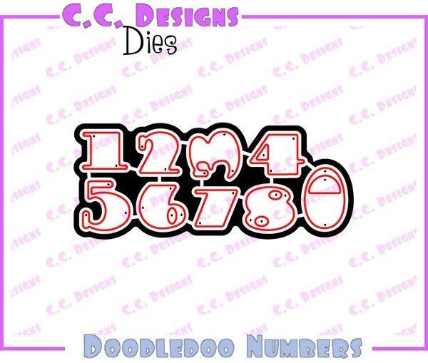Doodledoo Numbers Die