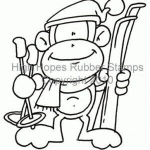 Ski Bum Monkey