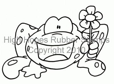 Wild Flower Froggy