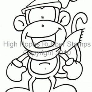 Winter Fun Monkey