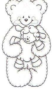 Bear with Lamb NEU