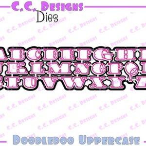Doodledoo Uppercase Die