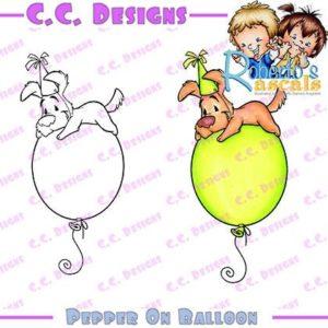 Pepper on Balloon