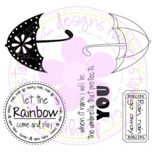 Umbrella Logo Set