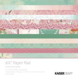 Enchanted Garden Paper Pad