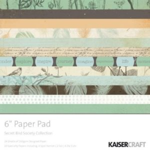 Secret Bird Society Paper Pad