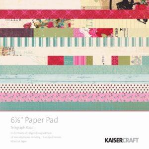 Telegraph Road 6x6 Paper Pad