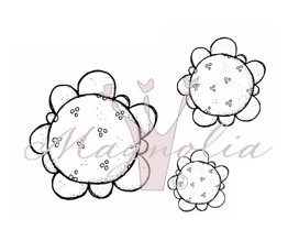 Speckled Shabby Chic Flowers