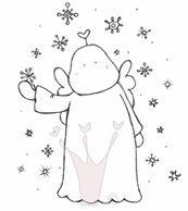 Tilda im Schnee
