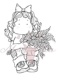 Tilda with Lilacs