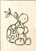 Turtle with Flower NEU