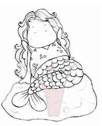 Meerjungfrau Tilda