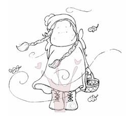 Tilda im Herbstwind