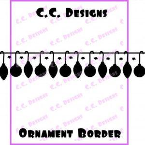 Ornament Border Die