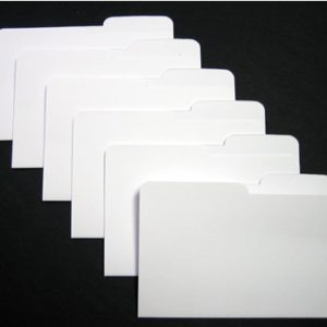 Mini File Folders