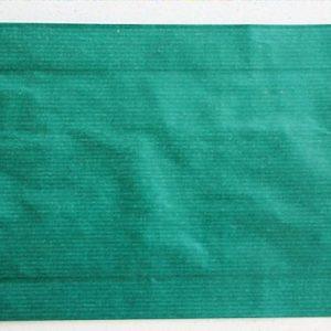 Papierbeutel, grün