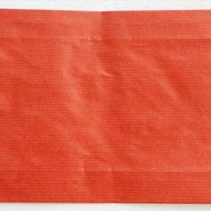 Papierbeutel, rot
