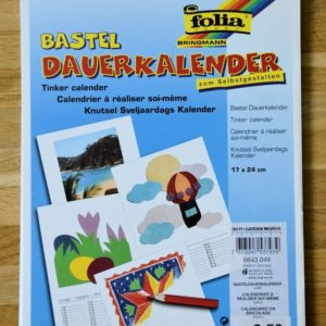 Dauerkalender, 17x24cm