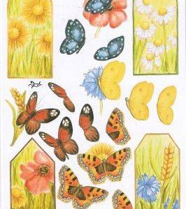 Anhänger Schmetterlinge
