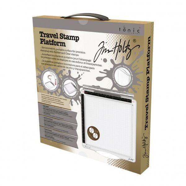 """Tim Holtz Travel Stamp Platform 6.5 x 6.5"""""""