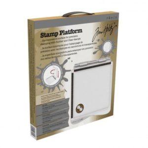 """Tim Holtz Stamp Platform 8.5 x 8.5"""""""