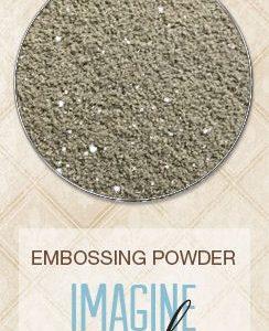 Embossing Powder - Black Sand