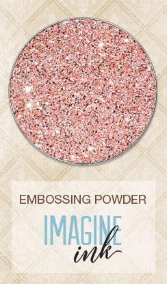 Embossing Powder - Coral