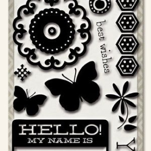Collectable - Hello Stamp Set