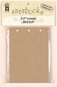 SB Rectangle Blank Book