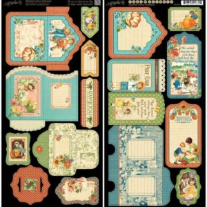 Children's Hour Cardstock Die-Cuts - Tags & Pockets