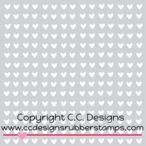 Mini Hearts Stencil