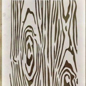 Woodgrain Stencil