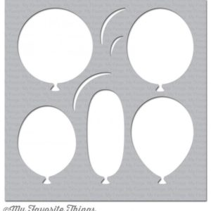 Big Balloons Stencil
