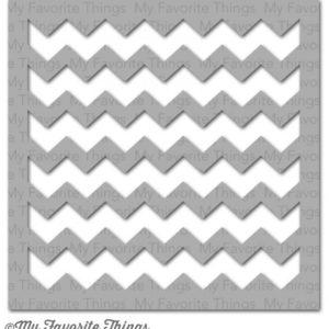 Large Chevron Stripes Stencil
