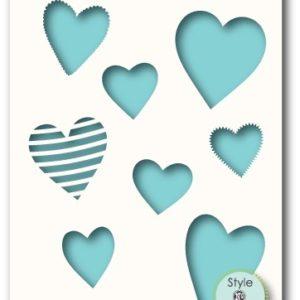 Collective Hearts Stencil